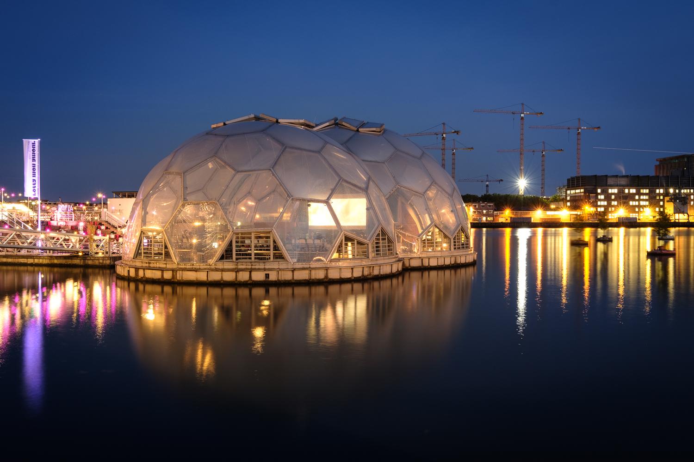 Floating Dome (cinema inside)