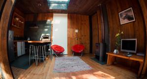 Cocina y living casa P