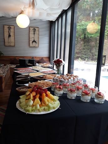 Buffet para evento