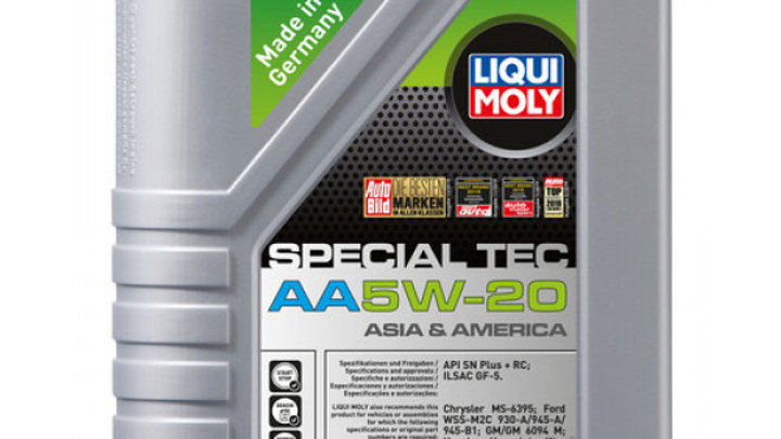 LIQUI MOLY ACEITE SINT. 5W20 SPECIAL AA 1 LITRO