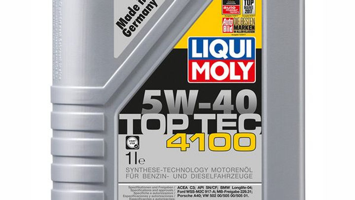LIQUI MOLY ACEITE SINT. TOP TEC 4100 5W40 1 LITRO