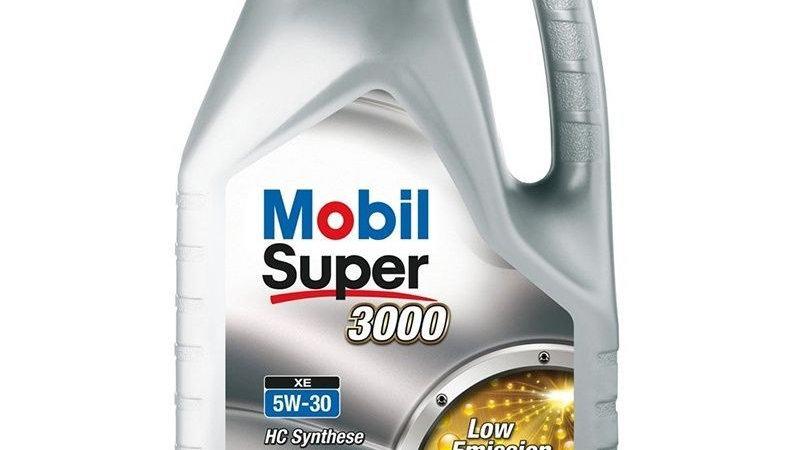 MOBIL SUPER 3000 XE 5W30 SINTETICO 4 LITROS