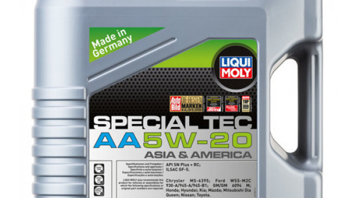 LIQUI MOLY ACEITE SINT. 5W20 SPECIAL AA 4 LITROS