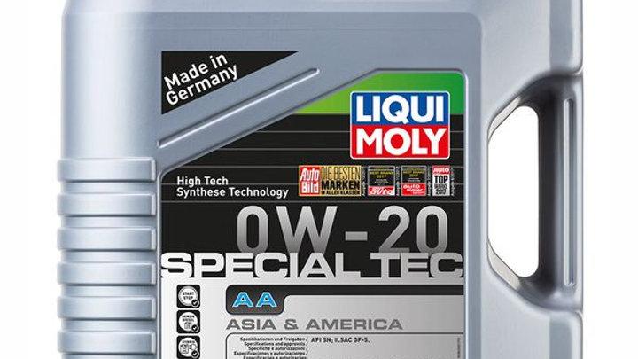 LIQUI MOLY SPECIAL TEC AA 0W20 4 LITROS