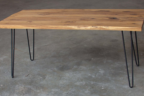 Rustic Oak Coffee Table Tailored Knot Inc