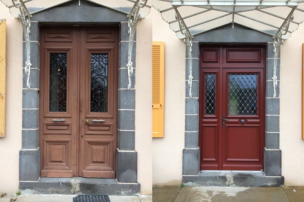 Porte d'entrée Bois Chauriat 63117