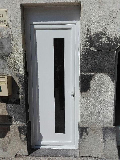 Porte d'entrée PVC Mirefleurs 63730