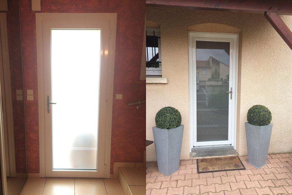 Porte d'entrée vitrée Aluminium Aubiére 63170