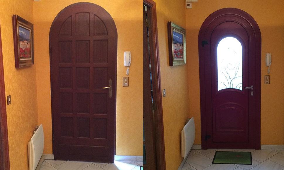 Porte d'entrée Aluminium Saint Amant Tallende 63450