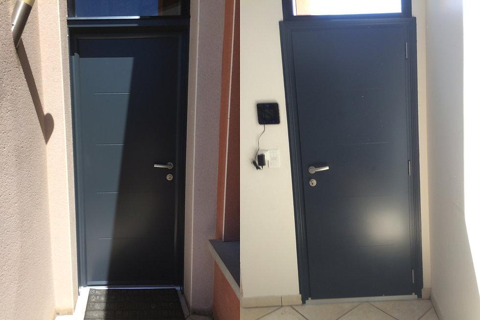 Porte dentrée Aluminium La Roche Noire 63800