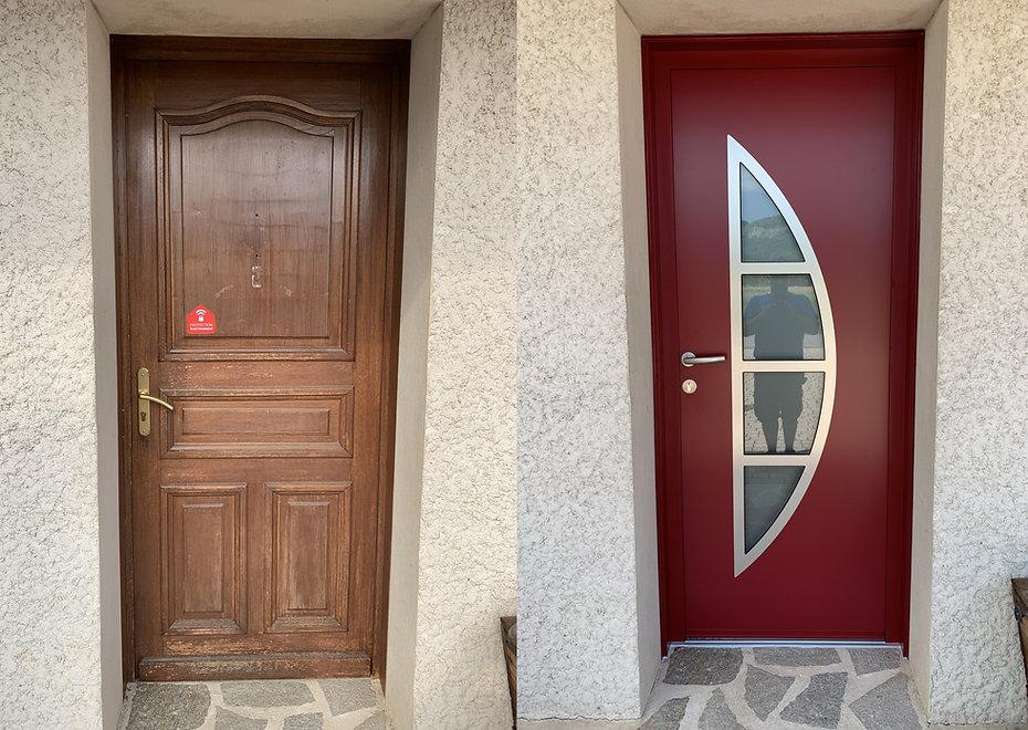 Porte d'entrée Aluminium Escoutoux 63300
