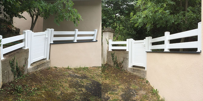 Clôture & Portillon PVC Nohanent 63830