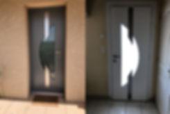 Porte d'entrée Aluminium Mirefleurs 63730