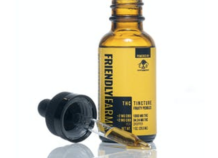 Reckless Rainbow 87% THC Tincture Indica