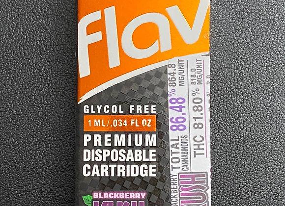 Blackberry Kush 1G Cartridge 82%THC by FLAV