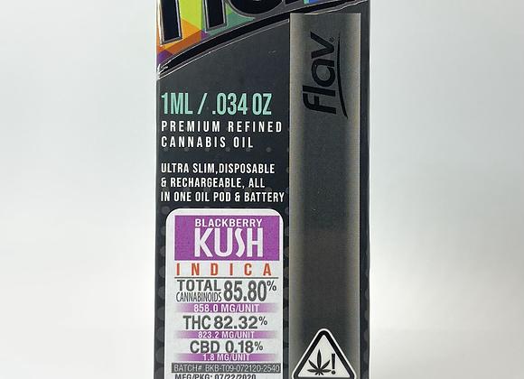 Flav-  Blackberry Kush 1G Disposable