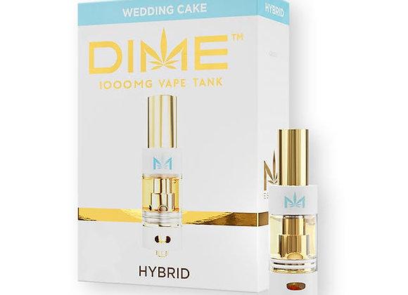 Dime Wedding Cake 1g cartridge