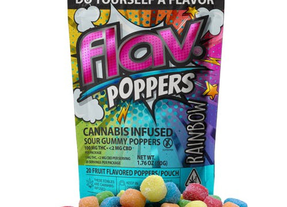Flav Sour Gummy Poppers