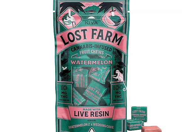 Lost Farm Fruit Chews Watermelon (Wedd Cake X Zkittlez) 100mg