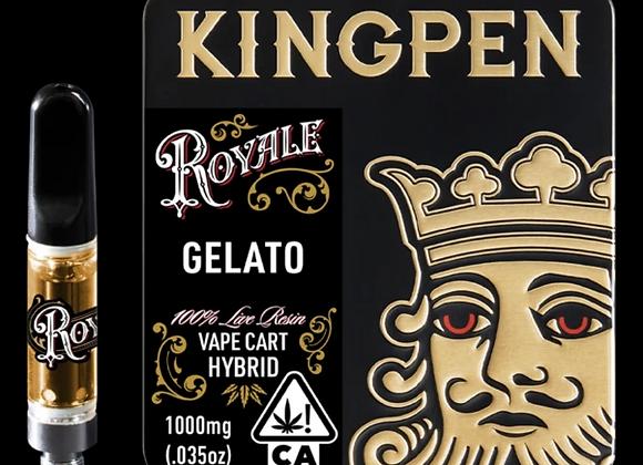 Kingpen Royale 1G live resin- Kush Cake