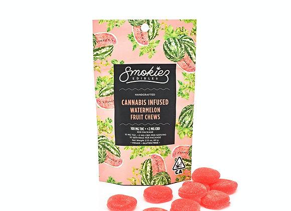 Smokiez Watermelon Fruit Chews - 100 mg THC