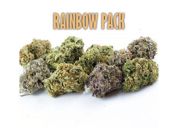 Rainbow Pack Half OZ