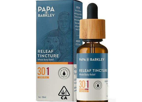 Papa & Barkley Releaf Tincture 30:1 CBD Rich