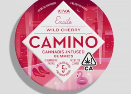 Kiva Camino Wild Cherry 100mg