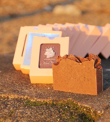 Cute Pumpkin Spice Latte Soap