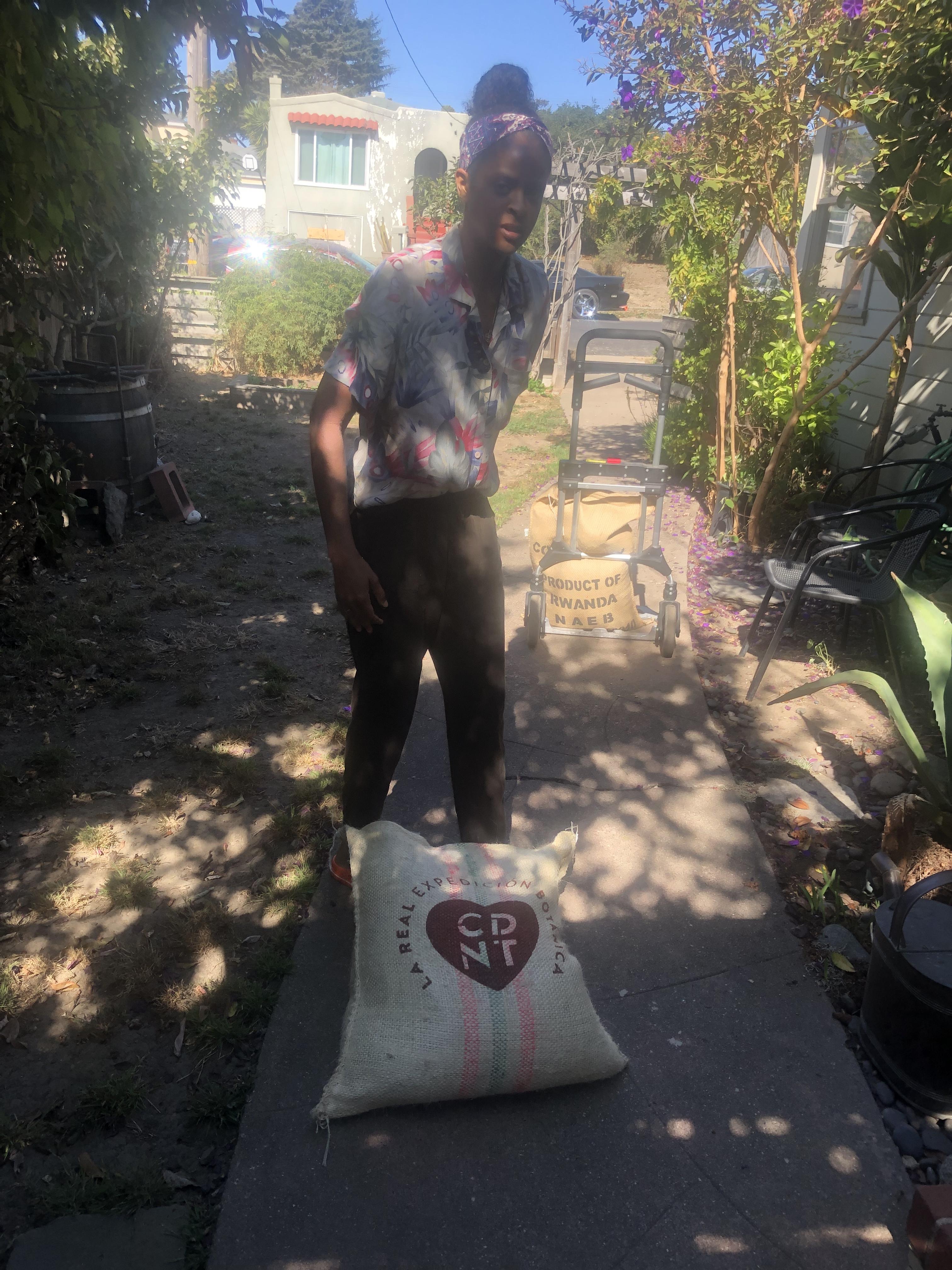 SabreeN Lifting Dem Bags