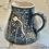 Thumbnail: Dark grey/navy dandelion mousie jug