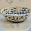 Thumbnail: Hand painted olive trail bowl