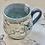 Thumbnail: Denim blue tall bee mug