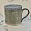 Thumbnail: Antique lace warm grey hand built mug