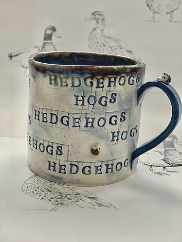 Hedgehog mug