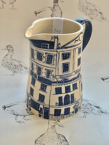 Medium Georgian houses jug