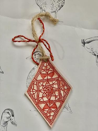 Diamond decoration