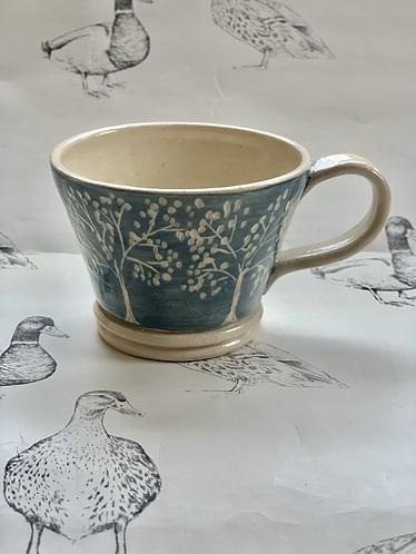 Tree small tea cup