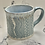 Thumbnail: Pale blue lace mug