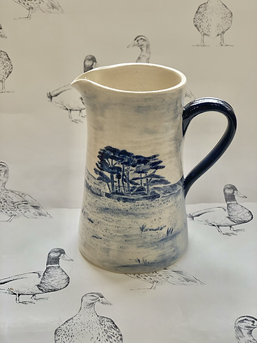 Wotton Hill hand painted jug