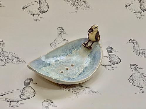 Duckling soap dish