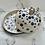 Thumbnail: Blue spot mouse butter dish