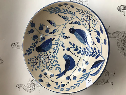 Birds and berries bowl