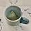 Thumbnail: Grey blue dandelion small mug