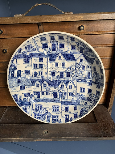 Dreaming of the Cotswolds plate