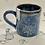 Thumbnail: Denim blue dandelion small mug