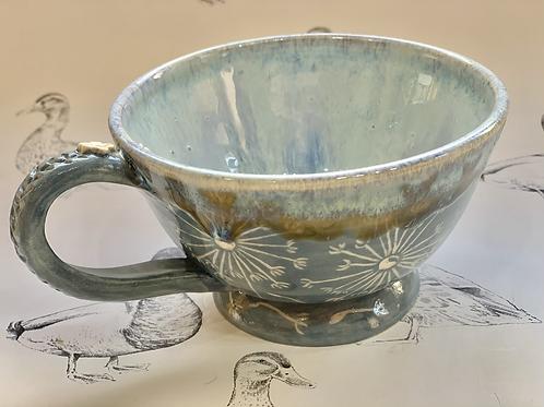 Dandelion tea mug
