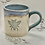 Thumbnail: Small blue grey bee mug