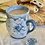 Thumbnail: Denim blue tall bee mug