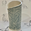 Thumbnail: Embroidered blue/grey vase